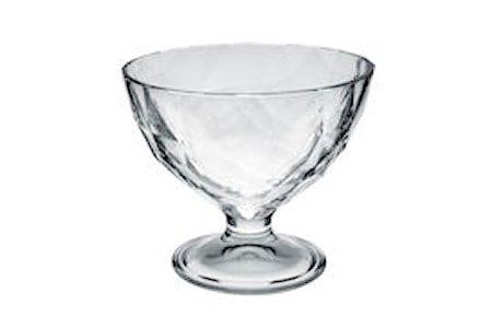 Glasskål på fot 20 cl