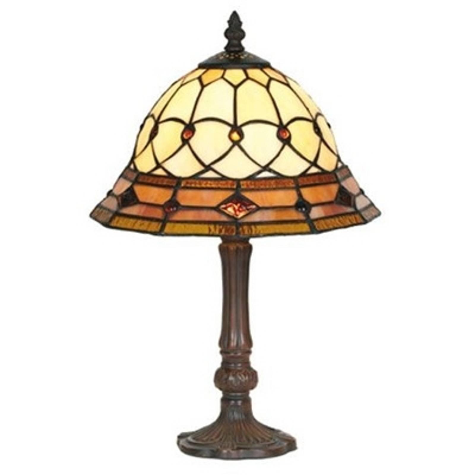 Håndlaget KASSANDRA bordlampe på 42 cm