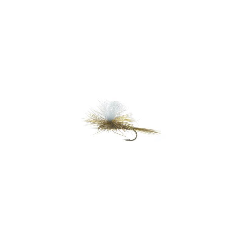 Parashute Dun Olive #14 Kjøp 12 fluer få gratis flueboks