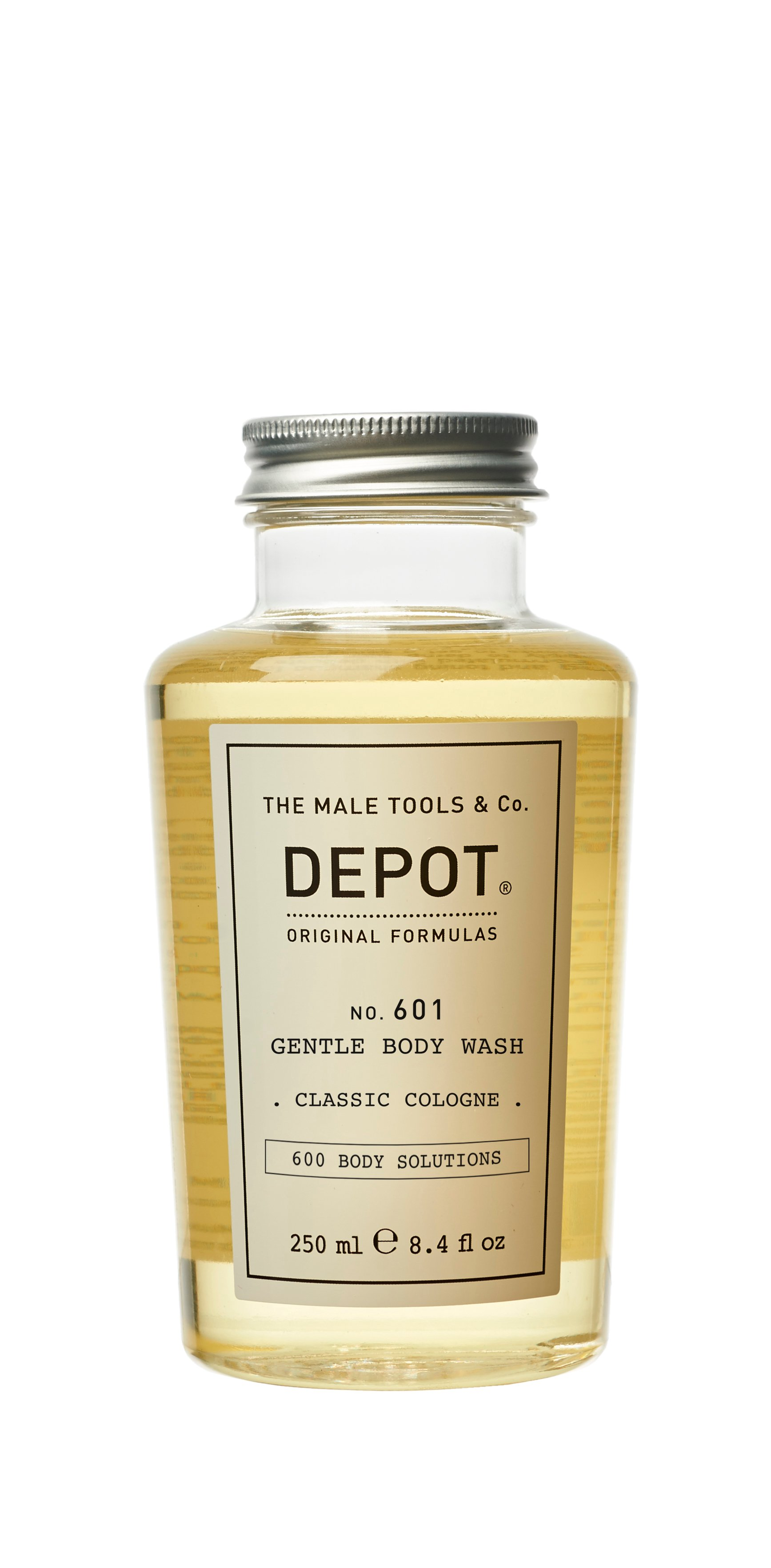 Depot - No. 601 Gentle Body Wash Classic Cologne 250 ml
