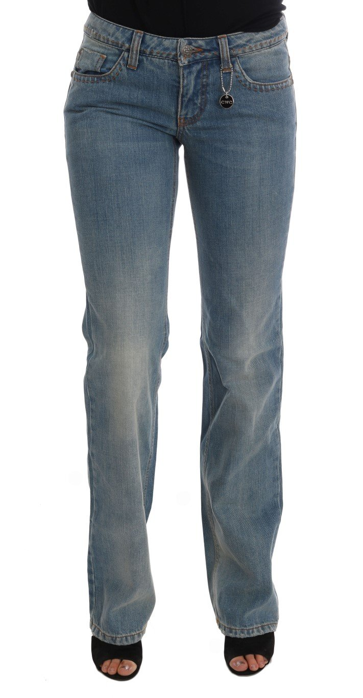 Costume National Women's Wash Cotton Classic Jeans Blue SIG30108 - W26