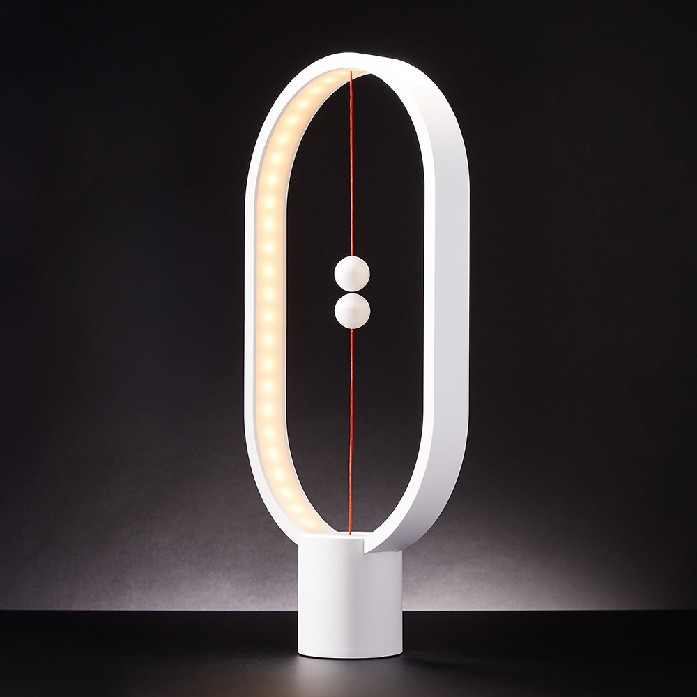 Heng Balance Lamp - Oval - White (04931.WT)