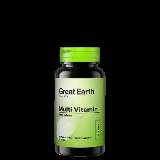 Multi Vitamin, 60 tabletter