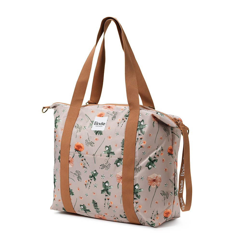 Changing Bag Soft Shell - Meadow Blossom