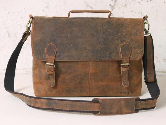 The Hamilton Leather Briefcase for Men