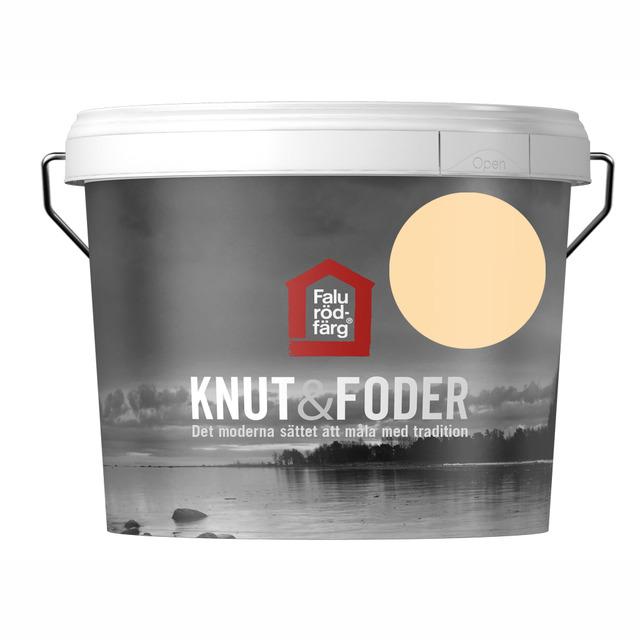 FALU RÖDFÄRG KNUT&FODER GUL 3L