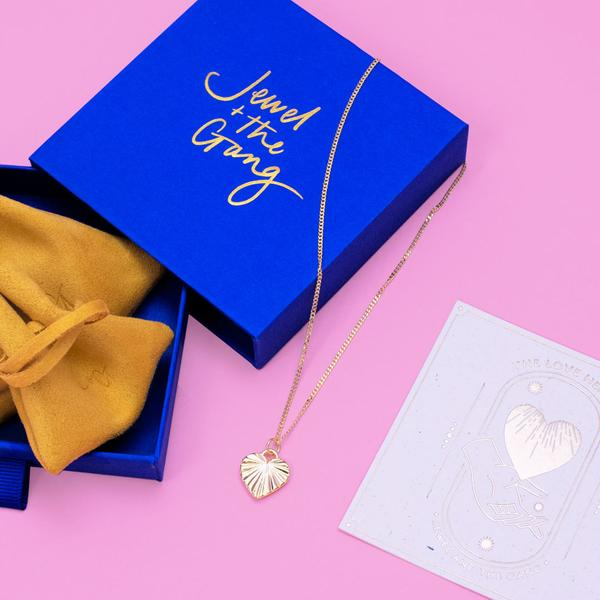 Jewel + The Gang The Heart Necklace