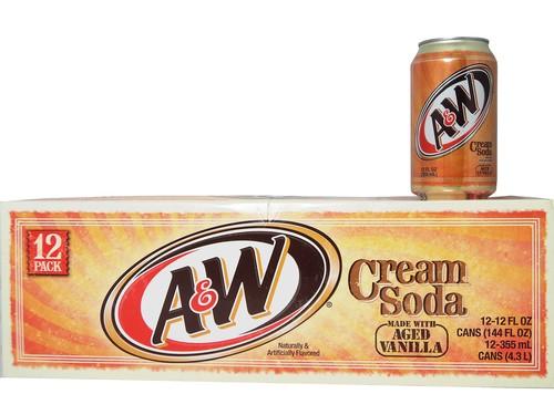 A&W Cream Soda 12-pack