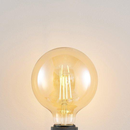 LED-lamppu E27 G125 6,5 W 2 500 K meripihka