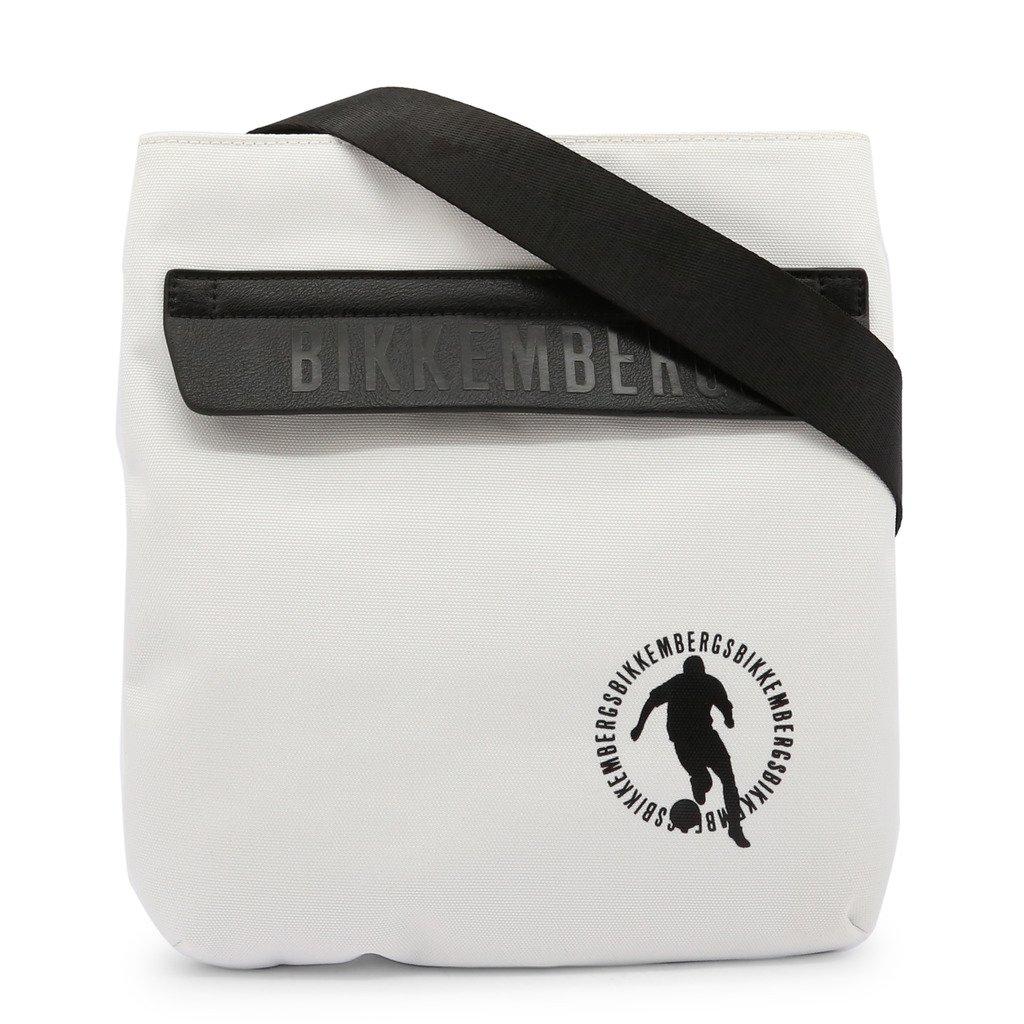 Bikkembergs Men's Crossbody Bag White E2BPME1M0022 - white NOSIZE