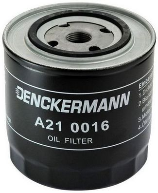 Öljynsuodatin DENCKERMANN A210016