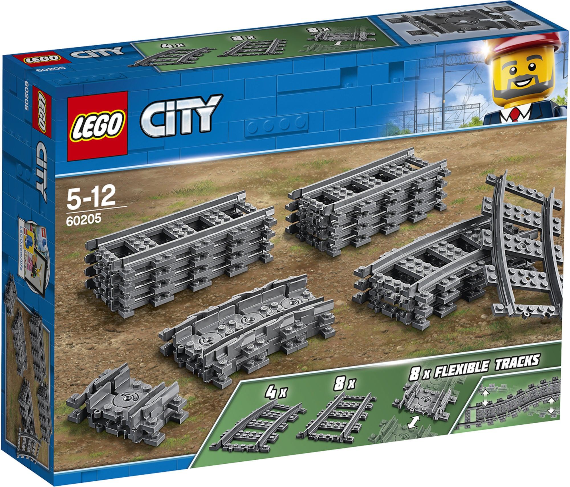 LEGO City 60205 Raiteet
