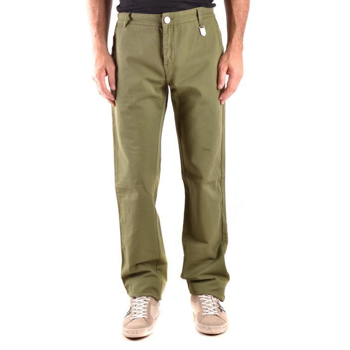 Bikkembergs Men's Trouser Green 163240 - green 48