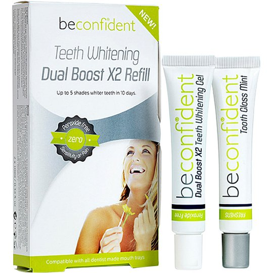 Teeth Whitening Dual Boost X2 Refill, 20 ml beconfiDent Hampaiden valkaisu