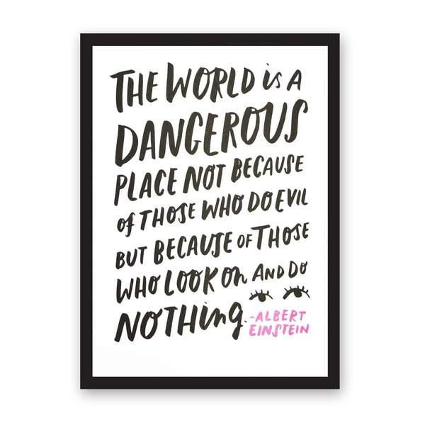 A3 Dangerous Riso Print