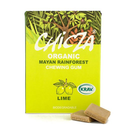 Chicza Ekologiskt Tuggummi Lime, 30 g