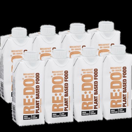 Växtbaserad Proteindryck Mocca Mania 8-pack - 70% rabatt