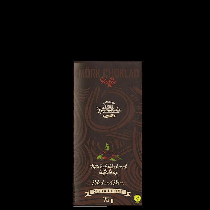 Mörkchoklad Kaffe, 75 g