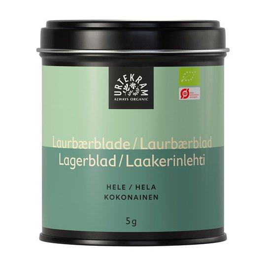 Urtekram Food Lagerblad Hela, 5 g