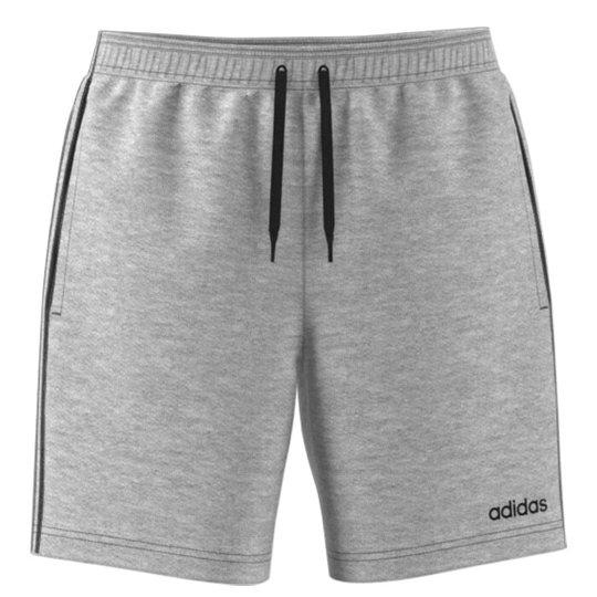 ADIDAS 3 Stripe Shorts, Grey