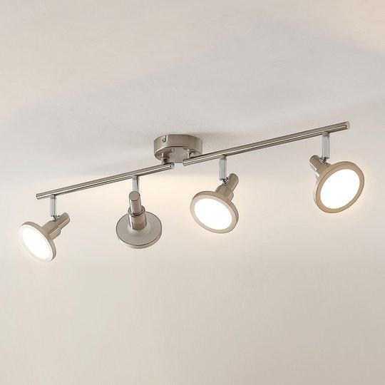 Lindby Unnur -LED-kohdevalaisin, 4-lamppuinen