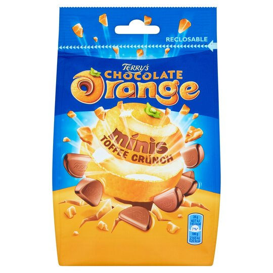 Terrys Chocolate Orange Minis Toffee 125g