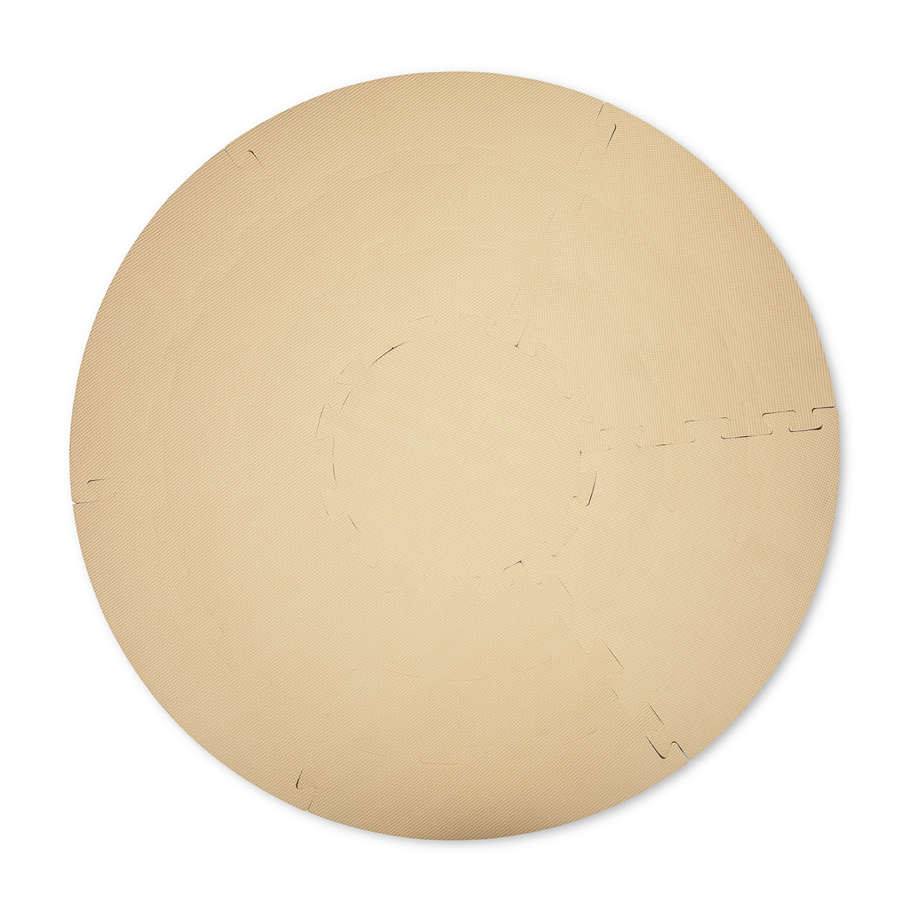 That's Mine - Foam Play Mat Cirkel - Warm Sand (PM2114)