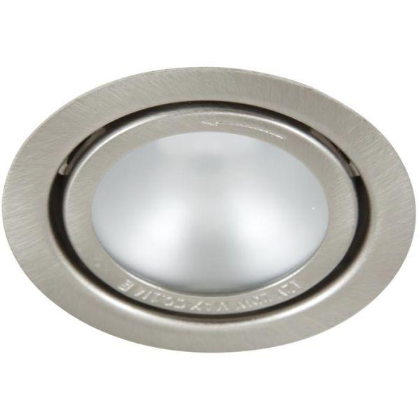 Hide-a-Lite 1202BS Downlight 20 W, matt glass, børstet stål