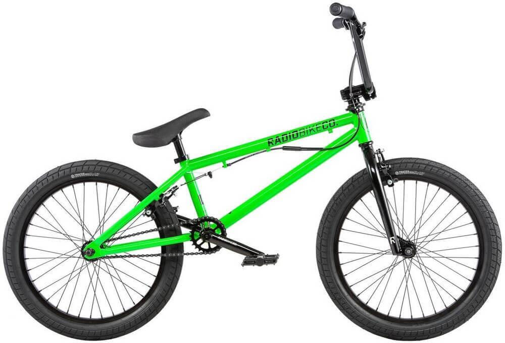 "Radio Dice FS Gyro 20"" 2020 Freestyle BMX Cykel"