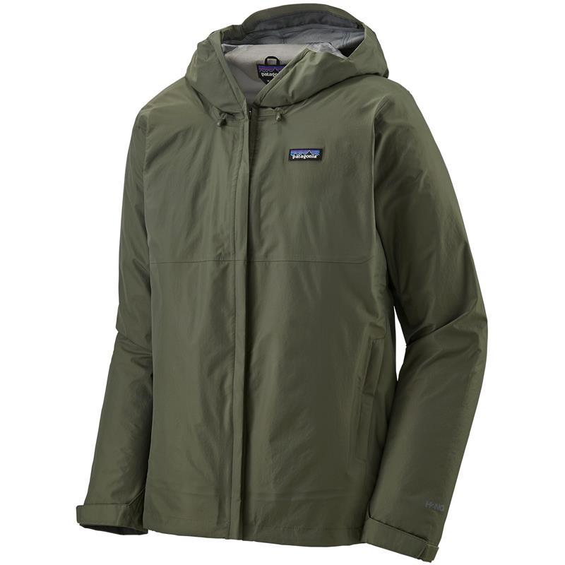 Patagonia Torrentshell 3L Jacket S Skalljakke, herre, Industrial Green