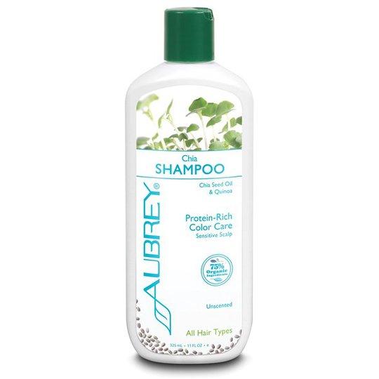 Aubrey Organics Chia Shampoo, 325 ml