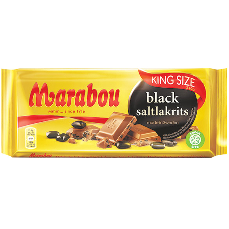 Mjölkchoklad Saltlakrits - 34% rabatt