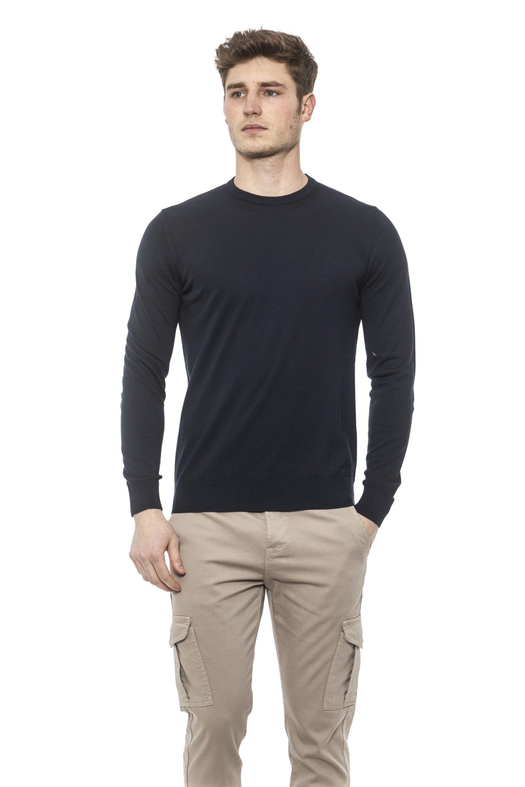 Alpha Studio Men's Sweater Blue AL1374570 - IT50 | L