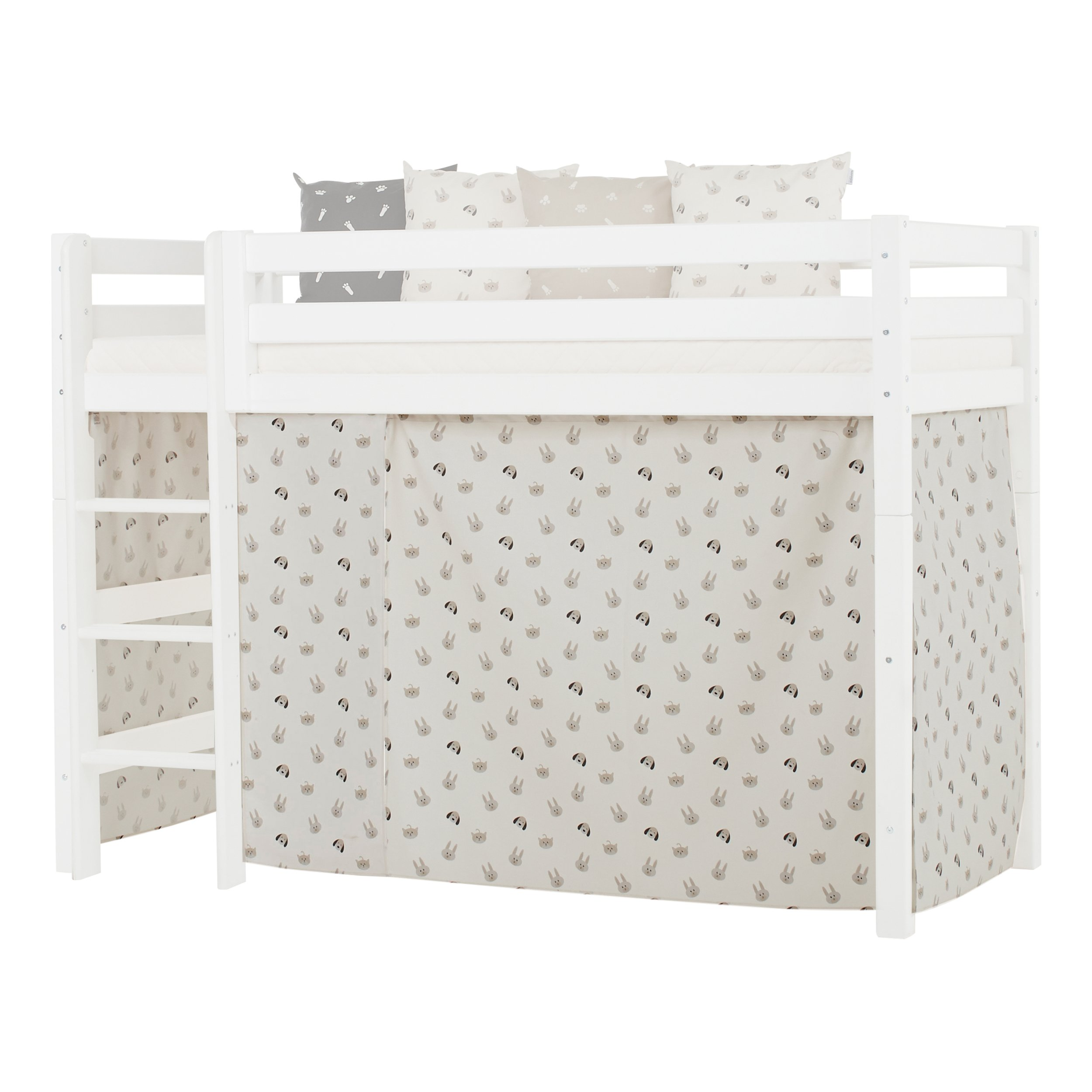 Hoppekids - Play Curtain Mid-High Bed 90x200 cm - Pets Pristine
