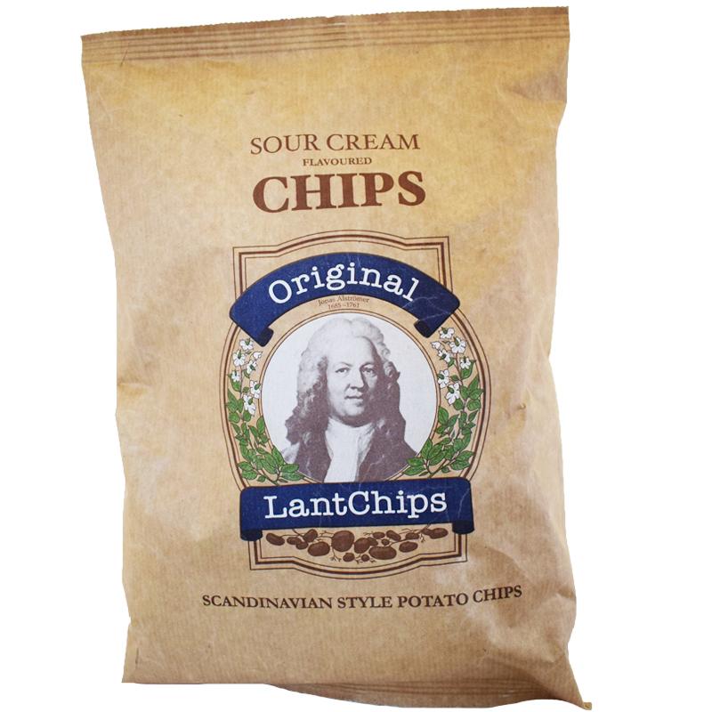 """Potatischips """"Sour Cream"""" 150g - 25% rabatt"""