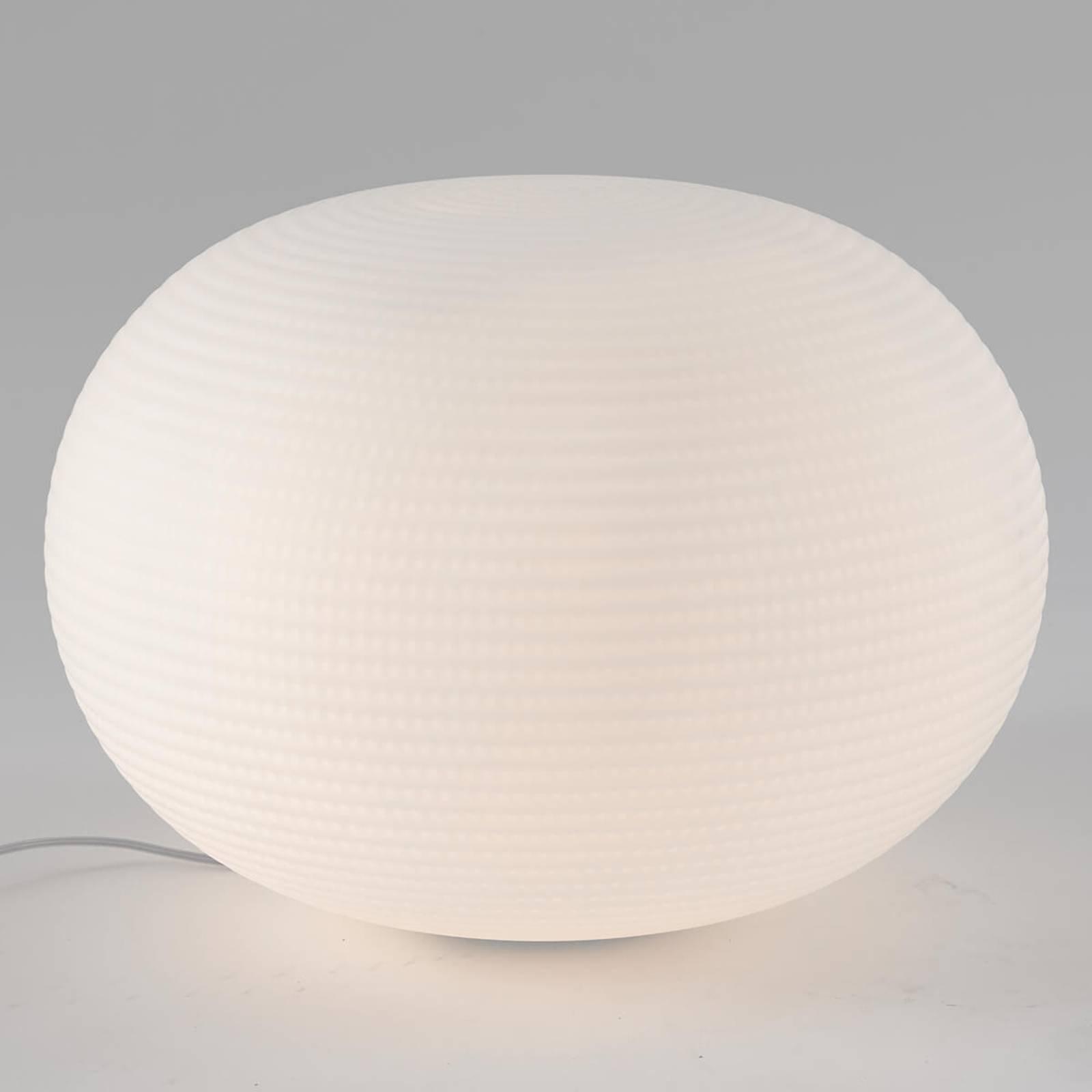 Designer bordlampe Bianca av glass, 50 cm