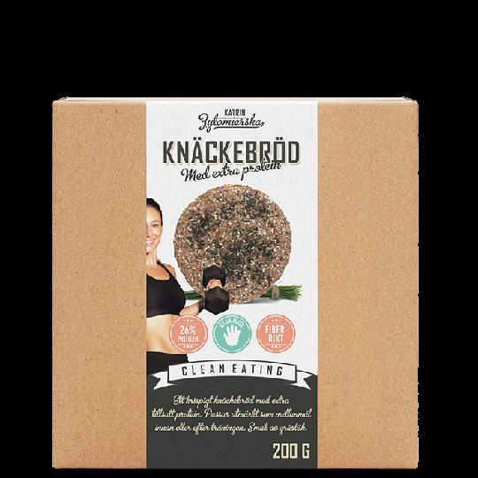 Knäckebröd Extra Protein Gräslök, 200 g