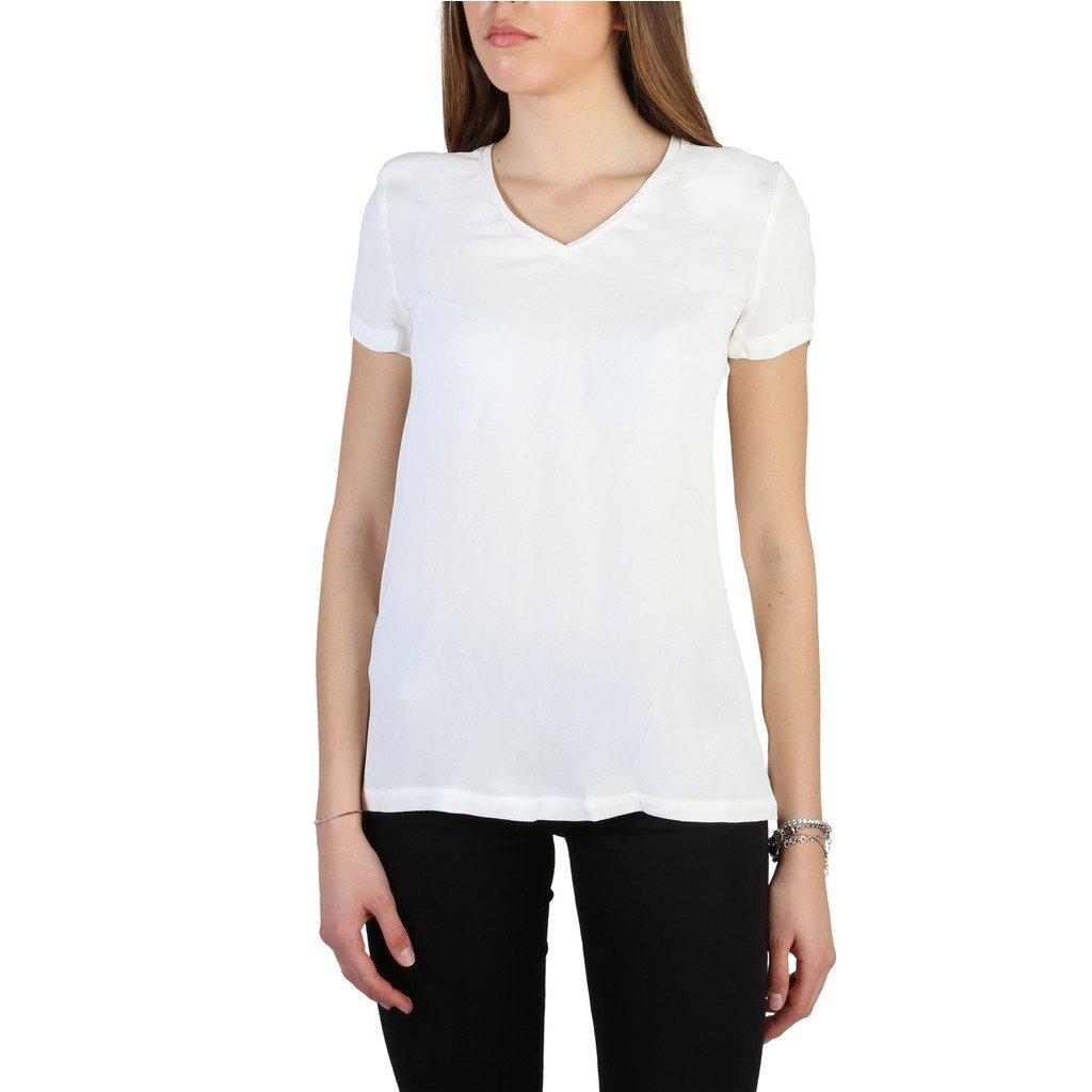 Armani Jeans Women's T-Shirt White 305025 - white 42 EU