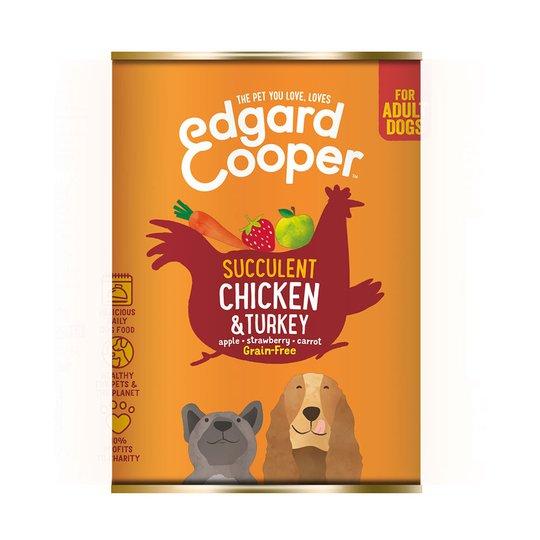 Edgard & Cooper Dog Kyckling & Kalkon (400 g)