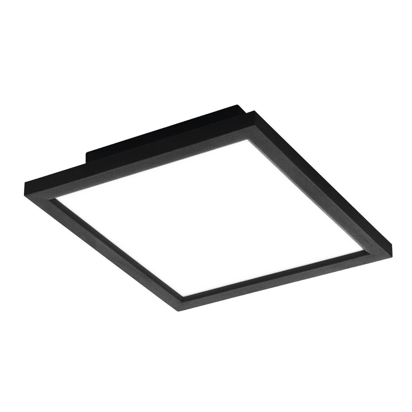 EGLO connect Salobrena-C LED-panel, svart 30x30 cm