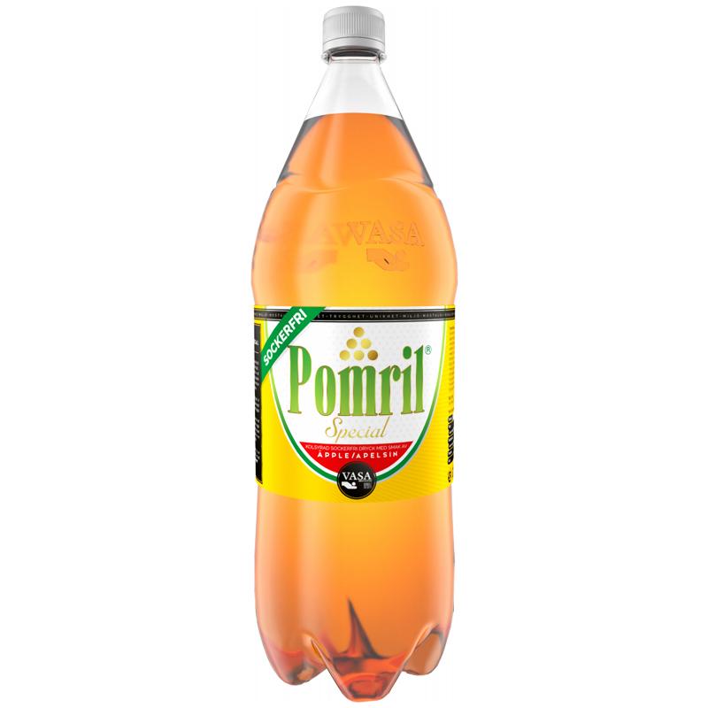Läsk Pomril Sockerfri 1,5l - 38% rabatt