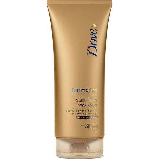 DermaSpa, 200 ml Dove Itseruskettavat