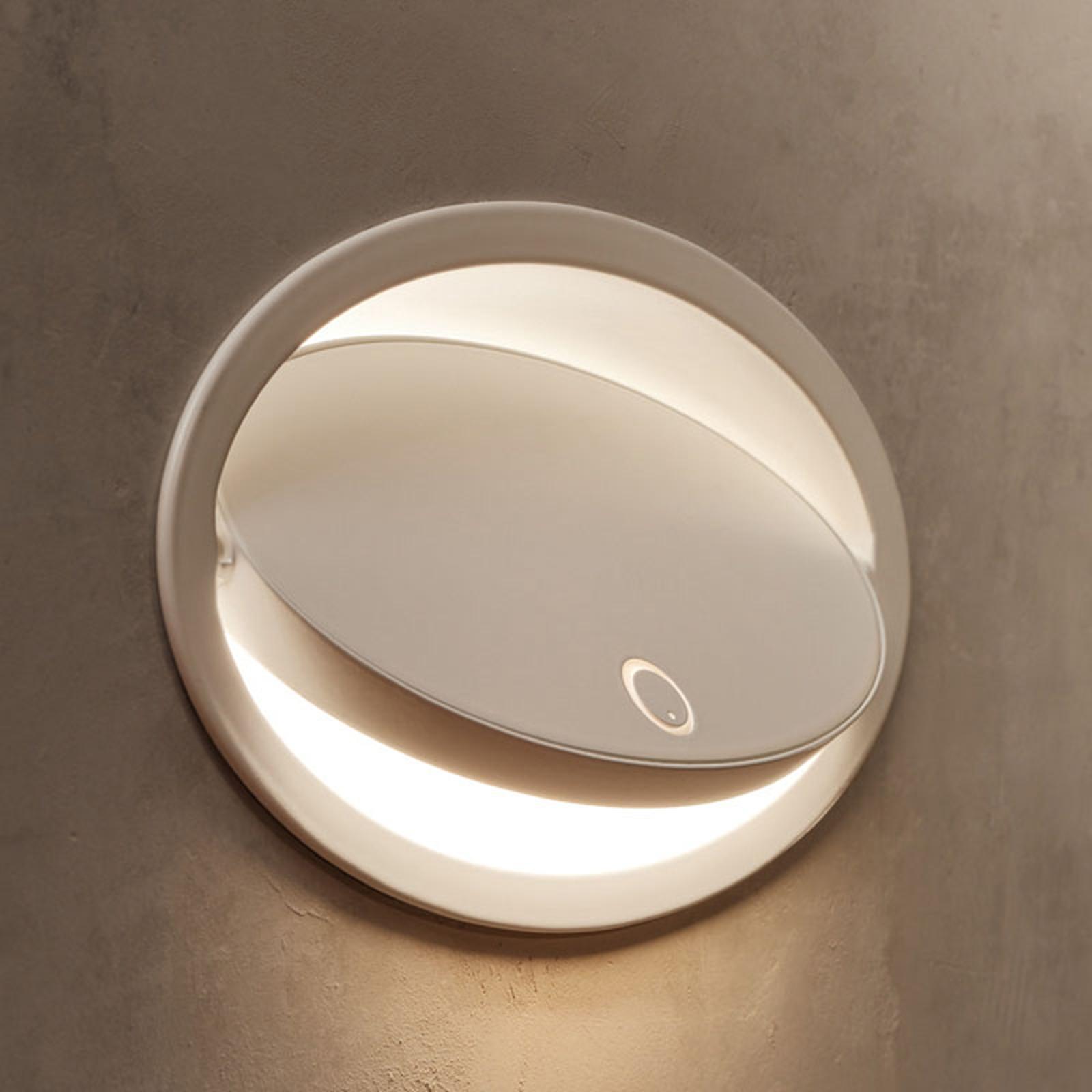 Grok Ely -LED-seinävalaisin kosketushimmentimellä