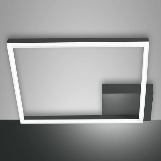 Bard-LED-kattovalaisin, 42 x 42 cm, antrasiitti