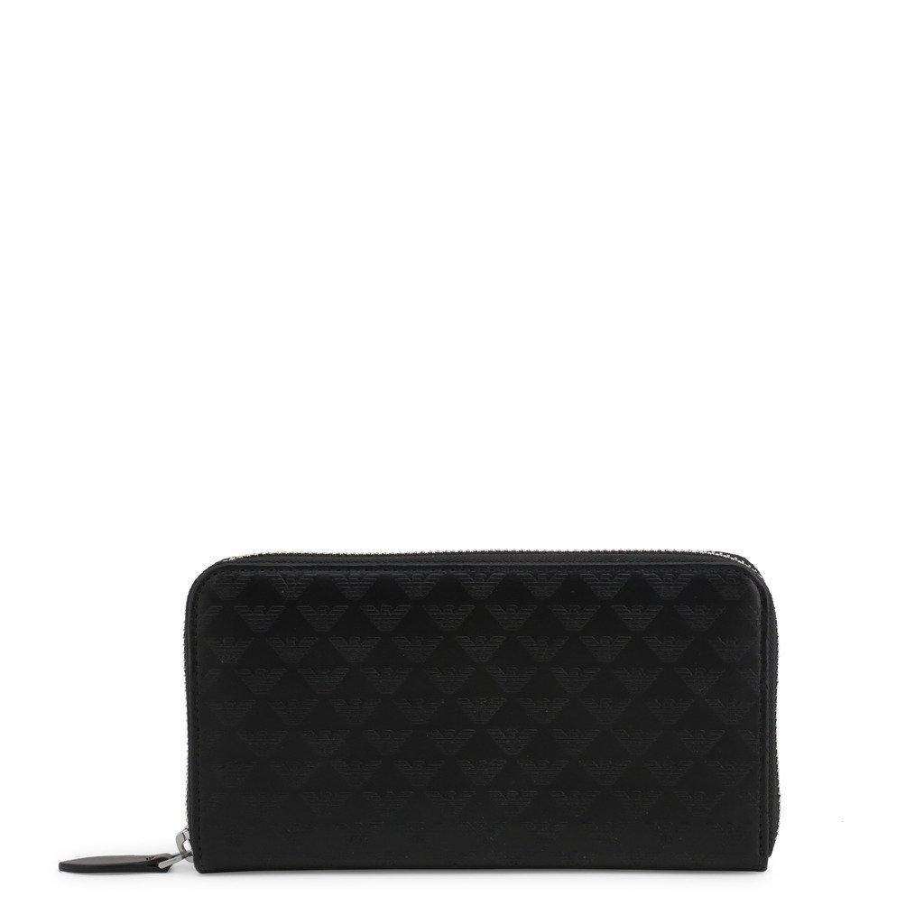 Emporio Armani Unisex Wallet Black YEME49_YC043 - black NOSIZE
