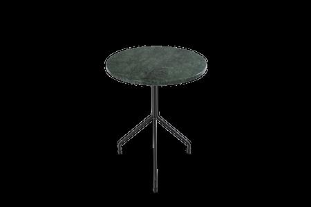 Allforone Grønn Marmor med Svart Ramme Ø50