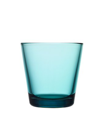 Kartio Glass Havsblå 21 cl 2-pakk