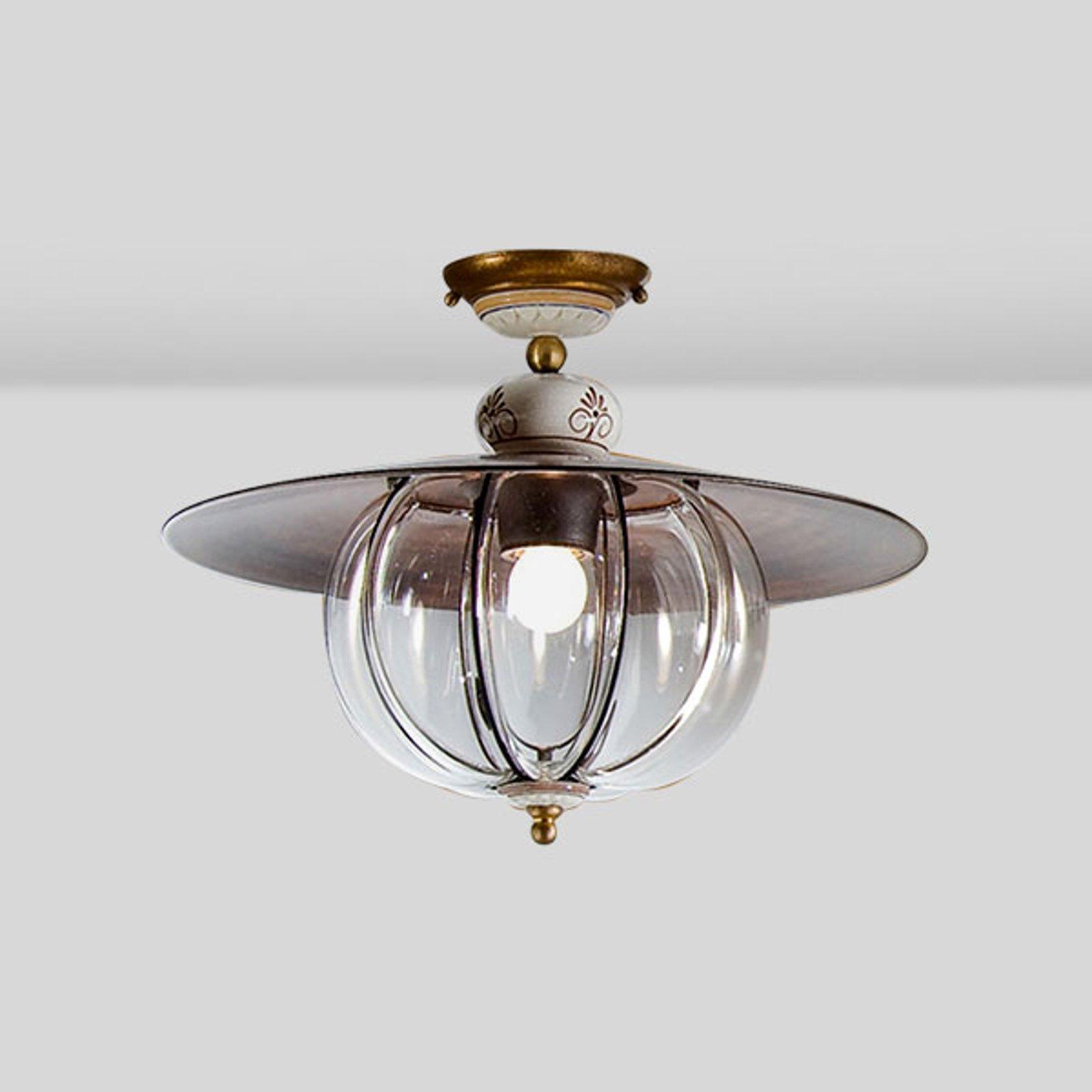 Håndlaget - taklampe Lampara i hyttestil