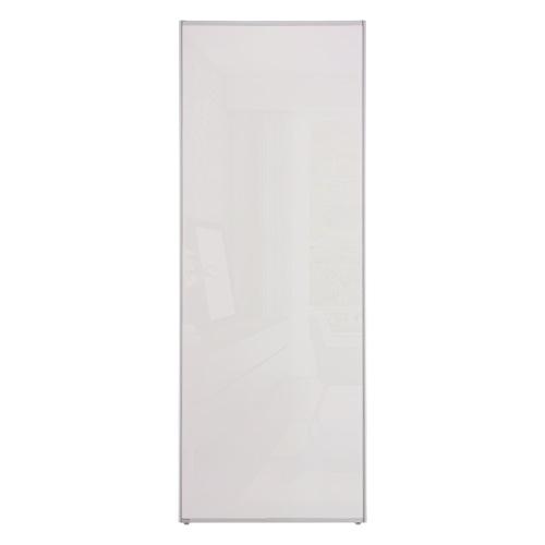 Hvit glass Mirro Solo