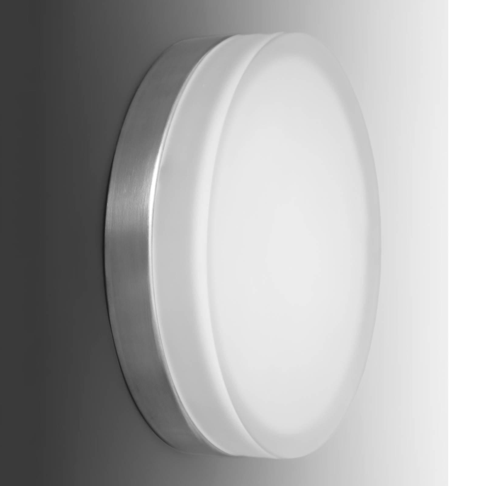 Enkel, rund LED-vegglampe Briq 01, 4 000 K